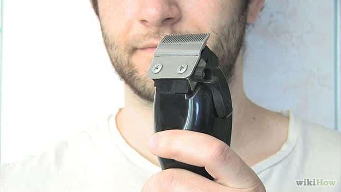 hoe gebruik je een baardtrimmer stap 2