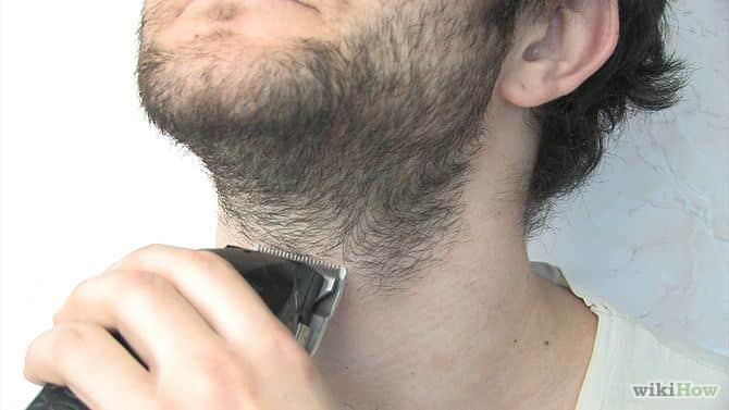 hoe gebruik je een baardtrimmer stap 3