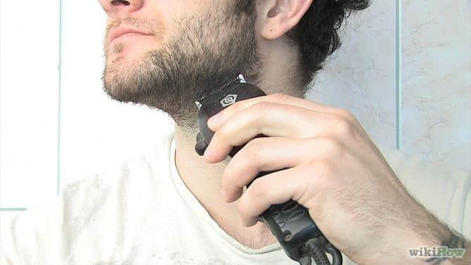 hoe gebruik je een baardtrimmer  stap 6
