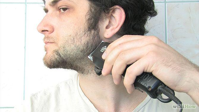 hoe gebruik je een baardtrimmer stap 7