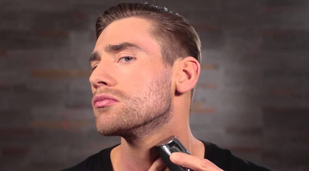 Hoe de perfecte halslijn voor je baard trimmen